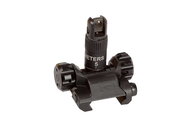 LMT 5.56 Metric Rear Flip Up Sight