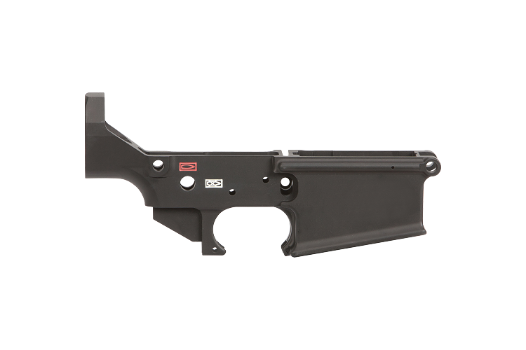 LMT AR-10 Lower MWS Stripped